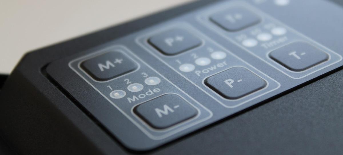 Сенсорная кнопочная панель управления мощностью блока Атлас