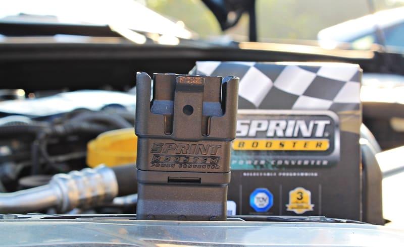 Спринт бустер имеет малые размеры и огромные преимущества