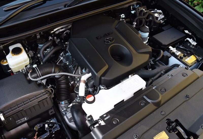 Дизельный двигатель Тойота Прадо 2,8 литра