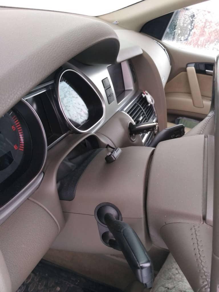 AUDI Q7 3.0 TDI - модуль Спринт-бустер
