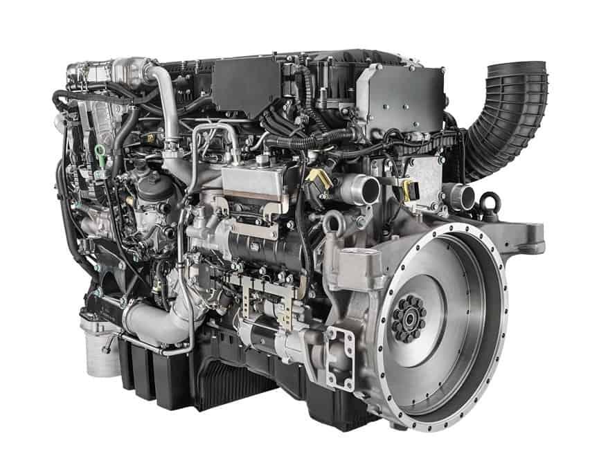 Двигатель MAN D3876
