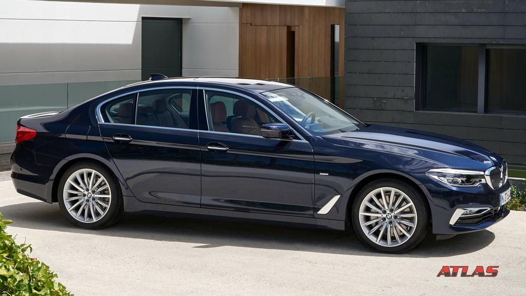 BMW G30 представлена в полной красе