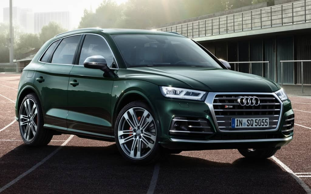 We carry out tuning serial Audi SQ5 2017